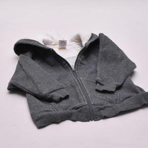 TKS Zip Sweatshirt with Hood and Pockets 2T